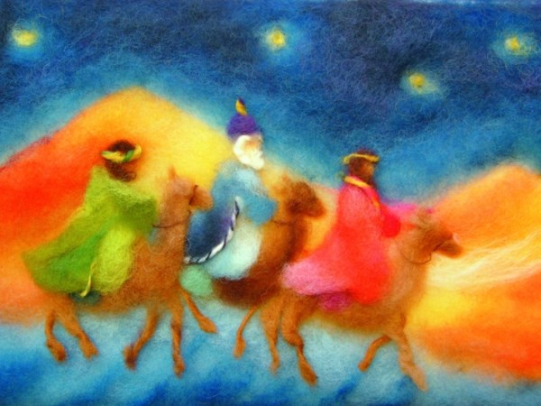 Postcard: Three Kings