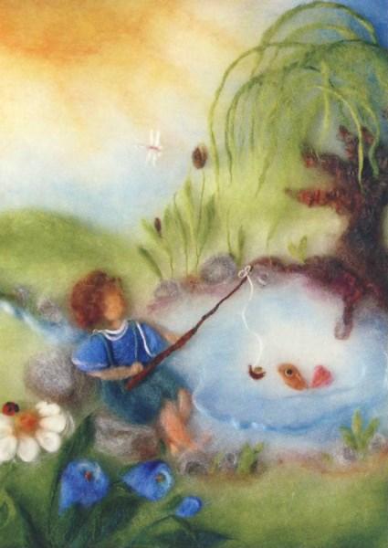 Postcard: Fishing