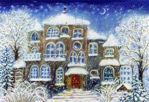 The Christmas House: Medium Advent Calendar