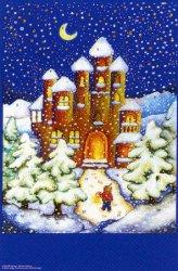 The Christmas Castle: Medium Advent Calendar