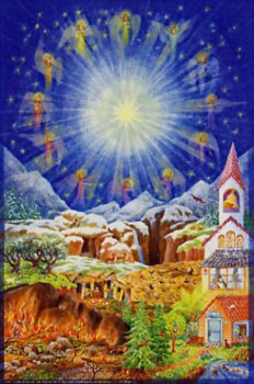 The Soldier and the Twelve Gates of Heaven: Large Advent Calendar