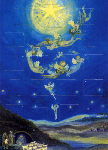 The Holy Night: Medium Advent Calendar