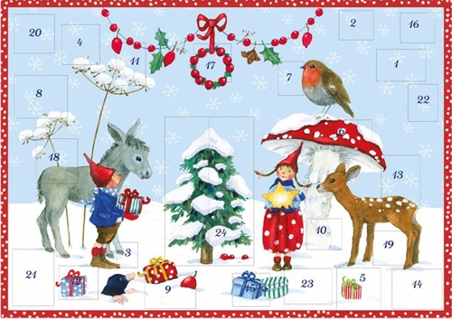 Pippa & Pelle in the Snow: Small Advent Calendar