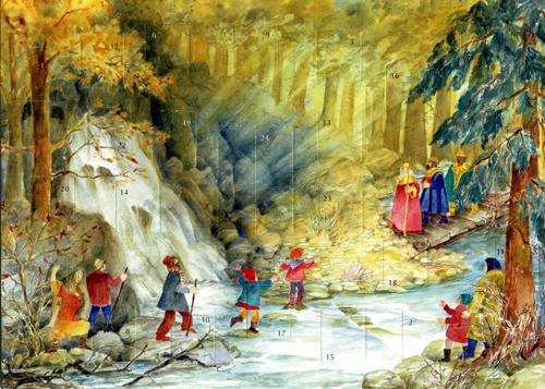 Three Kings in the Forest: Medium Advent Calendar