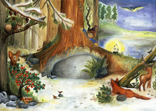 The Tree in the Wood: Small Advent Calendar