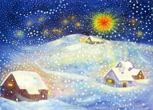 Winter: Small Advent Calendar