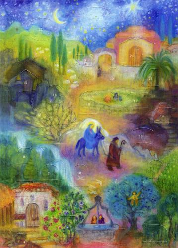 Mary's Little Donkey: A Kokonda: Small Advent Calendar