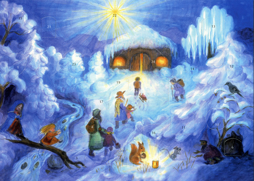 Christmas Night: Medium Advent Calendar