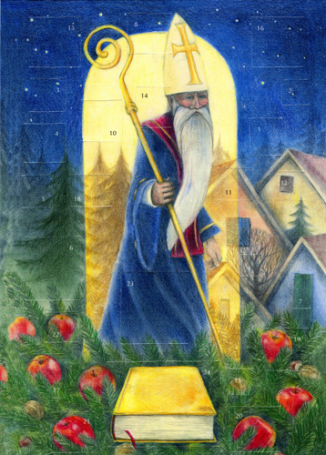 St Nicholas: Small Advent Calendar