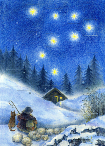 The Shepherd's Christmas: Small Advent Calendar