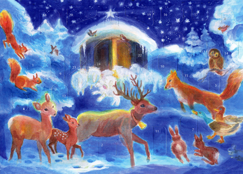 Christmas with the Animals: Small Advent Calendar