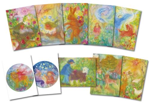 Set of 10 postcards from Angela Koconda