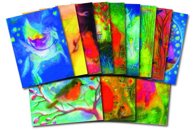 Angela Koconda: set of 12 postcards