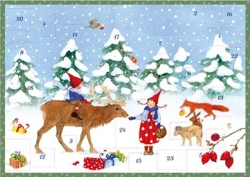 Winter with Pippa & Pelle: Small Advent Calendar