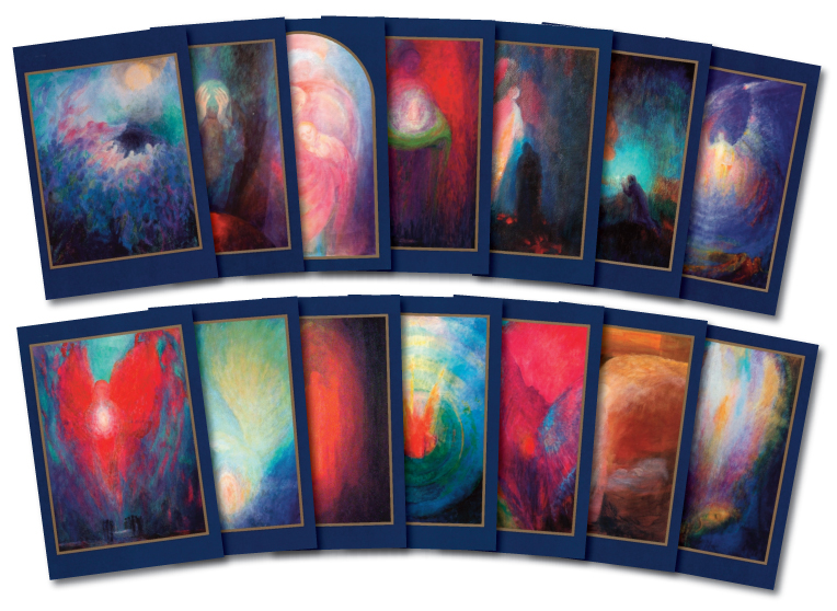 14 Angel postcards by Ninetta Sombart