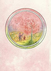 Postcard:  The Shepherd
