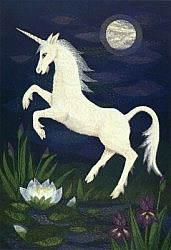 Postcard: Unicorn