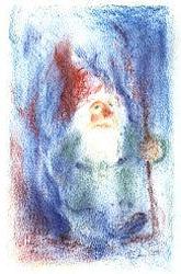 Postcard: A Gnome