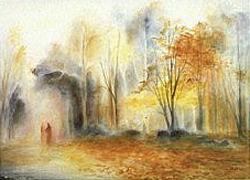 An Autumn mood: Folded card