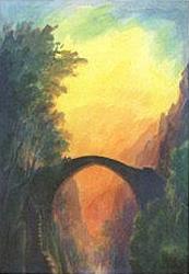 The Bridge: Folded card