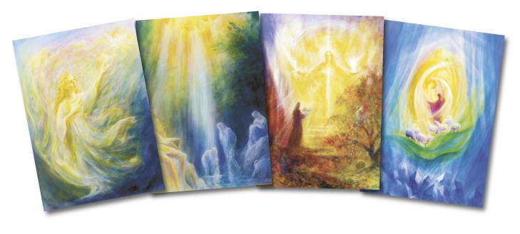 Seasonal Imaginations: set of postcards