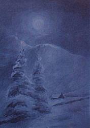 Postcard: Winter Snow
