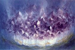 Postcard: Amethyst Crystals