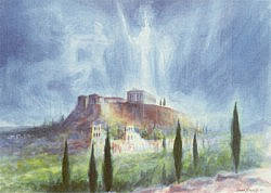Postcard: The Acropolis: An Imagination