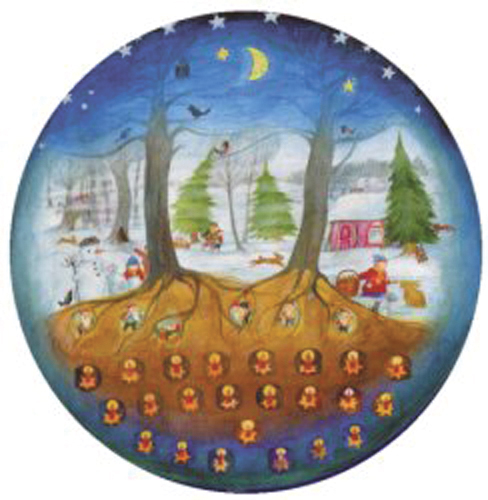 Find the right Door with me: Large Advent Calendar