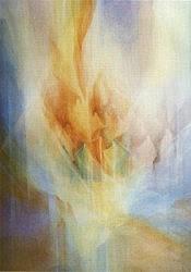 Postcard: Pentecost – Tongues of fire. No. 2