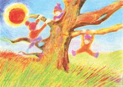 Postcard: Earth Elementals