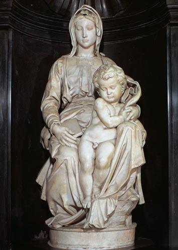Print: The Bruge Madonna