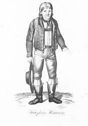 Postcard: Kaspar Hauser. Nürnberg, Whitmonday 1828