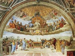 Postcard: Disputation on the Sacrament