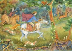 Postcard: The king's hunt