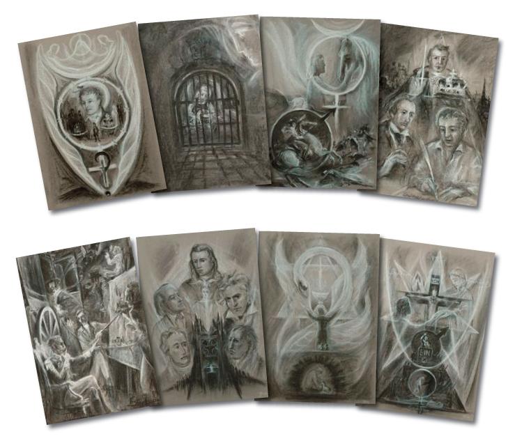 Kaspar Hauser - set of 8 prints