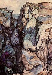 Postcard:  Rocks in Iceland