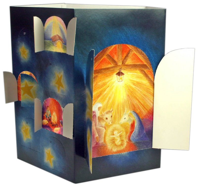 Light in the Lantern: Advent Calendar (French edition)