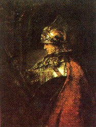 Print: Man in Armour
