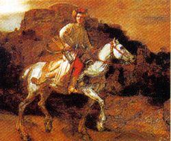 Postcard: The Polish Rider