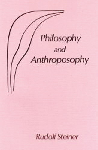 Philosophy and Anthroposophy