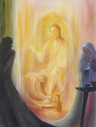 Print: The anointing of the feet of Christ - Wednesday