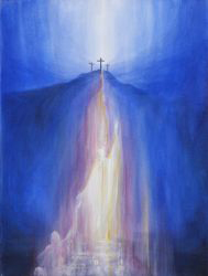 Print: Christ bringing hope into the depths - Saturday