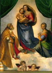 Print: The Sistine Madonna