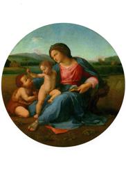 Print: Madonna di Casa Alba