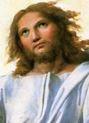 Print: Transfiguration – detail