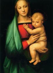 Postcard: Granducca Madonna