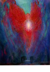 Postcard: Angel