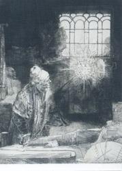 Postcard: The Alchemist