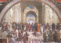 Postcard: School of Athens